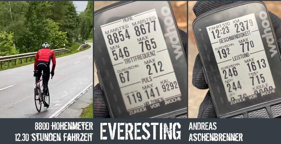 Everesting Love - Triahtlet Andreas Aschenbrenner