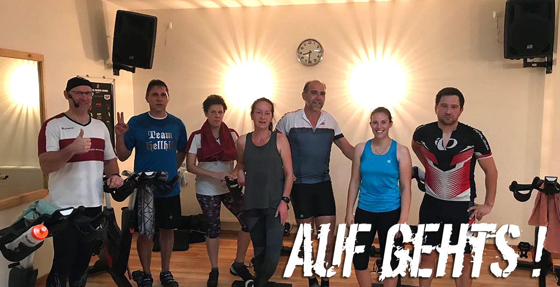 Wintersaison im Kinema - Indoorcycling + Hot Iron Pump
