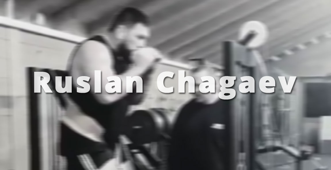 Ruslan Chagaev im Training